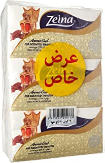 Zeina Set OF 3 Bags, 550 Tissues - Aroma Oud - Multi Color