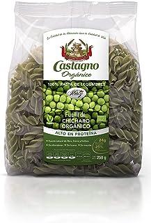 Castaño Orgánico, Pasta Orgánica De Chícharo Fusilli,