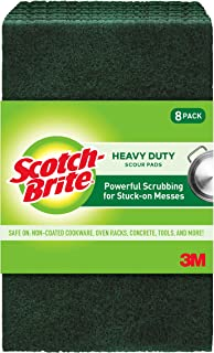Scotch-Brite Ideal for Garden Tools and Grills, Green, 8 Count (Pack of 1)
