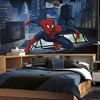 RoomMates Spiderman - Ultimate Spiderman Removable Wall Mural - 10.5 feet X 6 feet