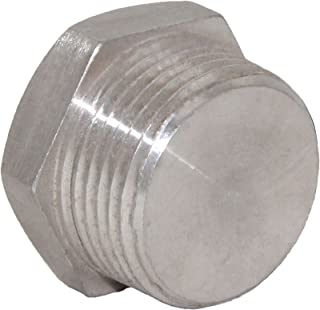 Joyway Stainless Steel Outer Hex Thread Socket Pipe Plug Fitting 1