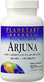 Arjuna 550mg Full Spectrum Planetary Herbals 120 Tabs