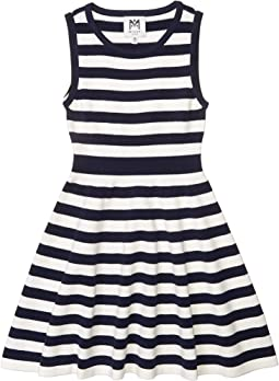 Striped Fit-and-Flare Dress (Big Kids)