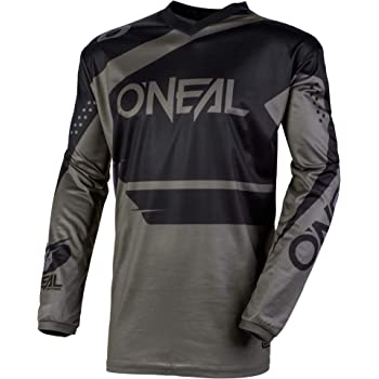 ONeal Unisex-Adult Element Attack Jersey Black//Hi-Viz Medium O/'Neal 0008-803