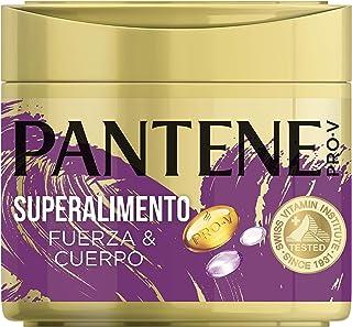 Pantene Pro-V Superalimento Fuerza&Cuerpo Mascarilla Capilar de Queratina para Pelo Dañado y Frágil 300 ml