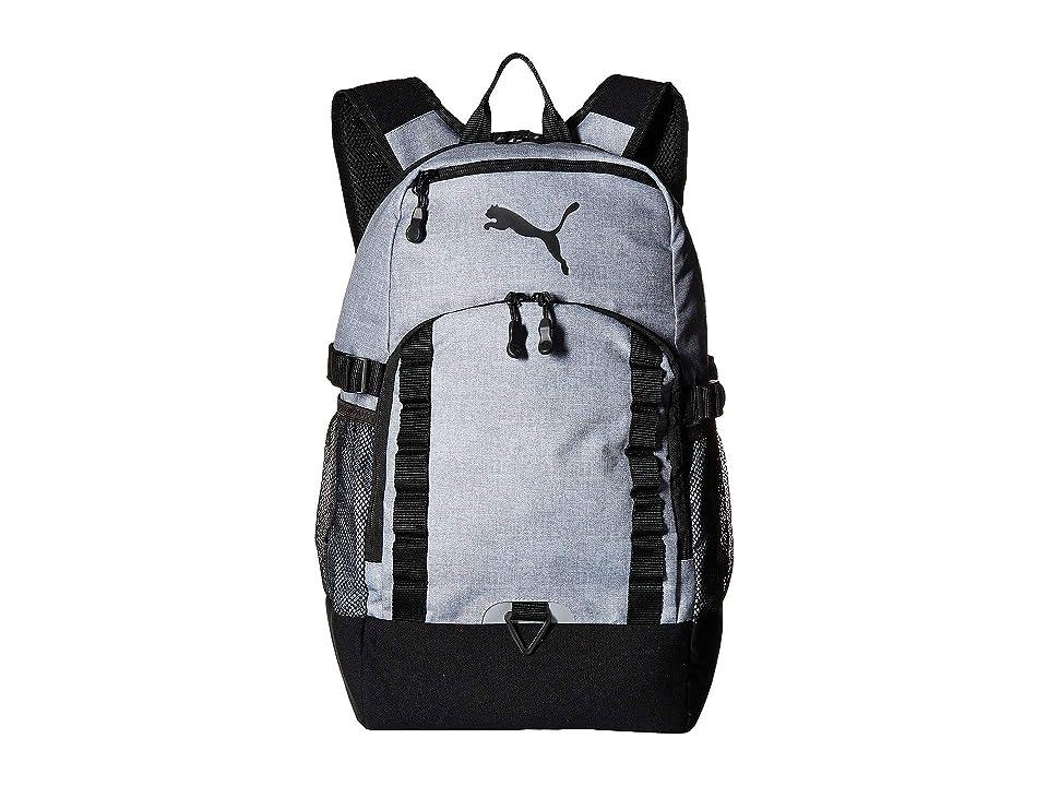 PUMA Evercat Fraction Backpack (Heather) Backpack Bags