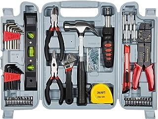 Stalwart Durable Metal 130-Piece Hand Tool Set
