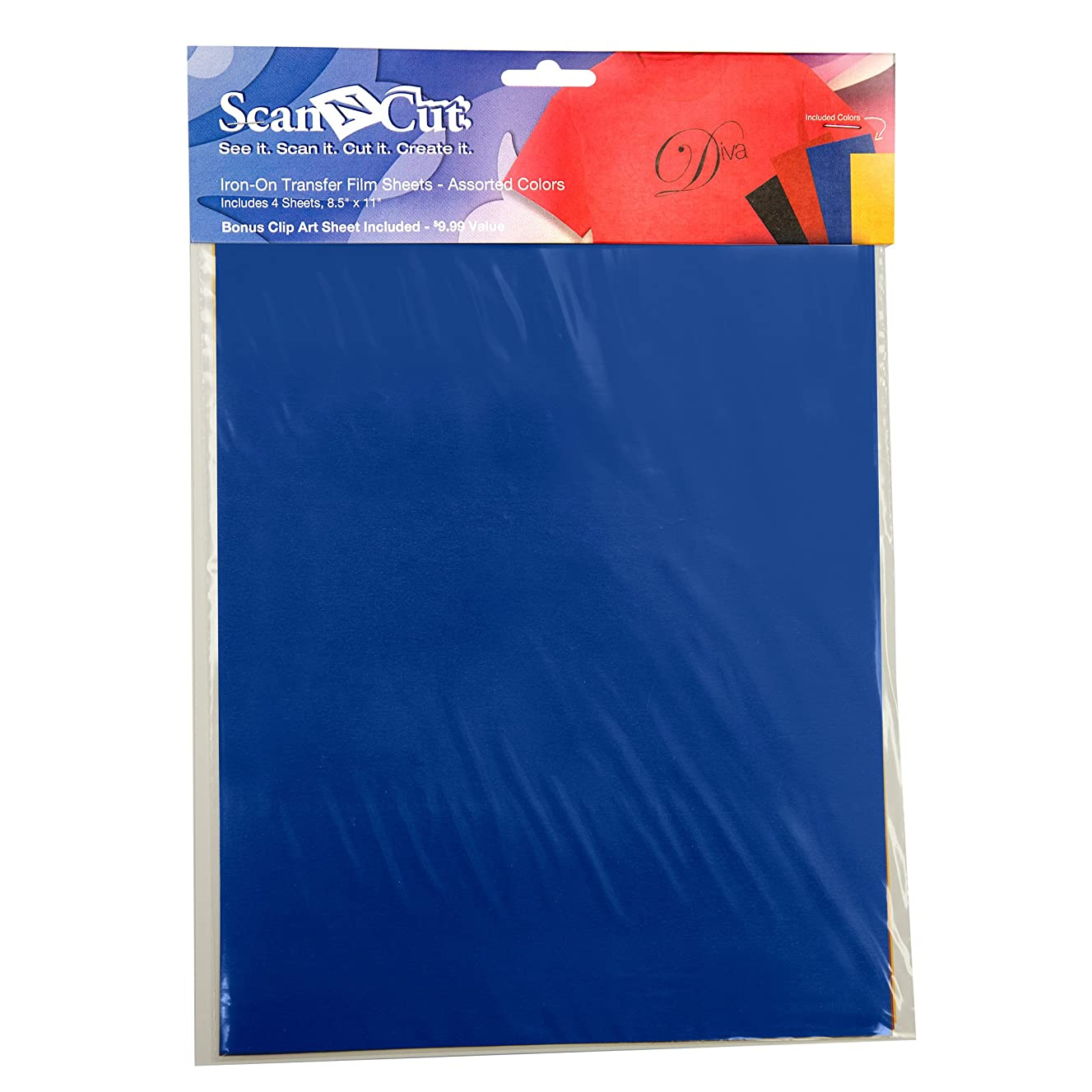 Brother ScanNCut CATFM01 Iron-On Transfer Film Sheets