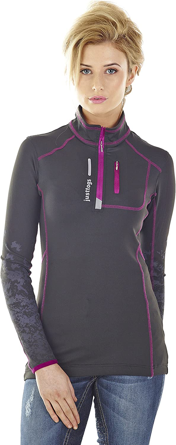Just Togs Air Cool Sport Rider Base Layer Top