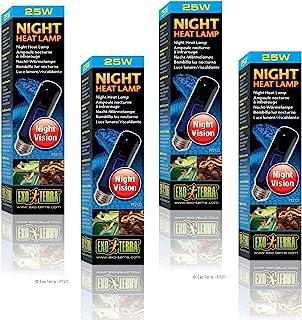 Exo Terra Night-Glo Moonlight Lamp 25-Watt (4 Pack)