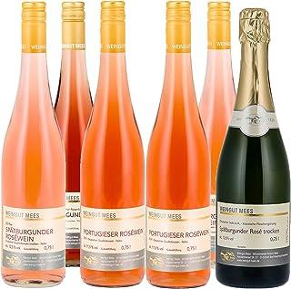 Weingut Mees ROSÈ WEIN UND WINZERSEKT B.A. PROBIERPAKET Roséwein Trocken Feinherb Nahe Deutschland 6 x 750 ml