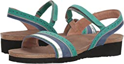Oily Emerald Nubuck/Oily Blue Nubuck/Silver Mirror Leather