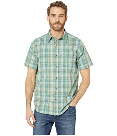 Marmot Highpark Short Sleeve Shirt (Pond Green) Men