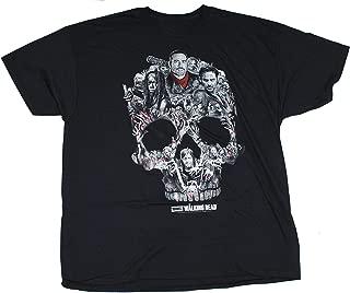 Walking Dead The Skull Montage T-Shirt