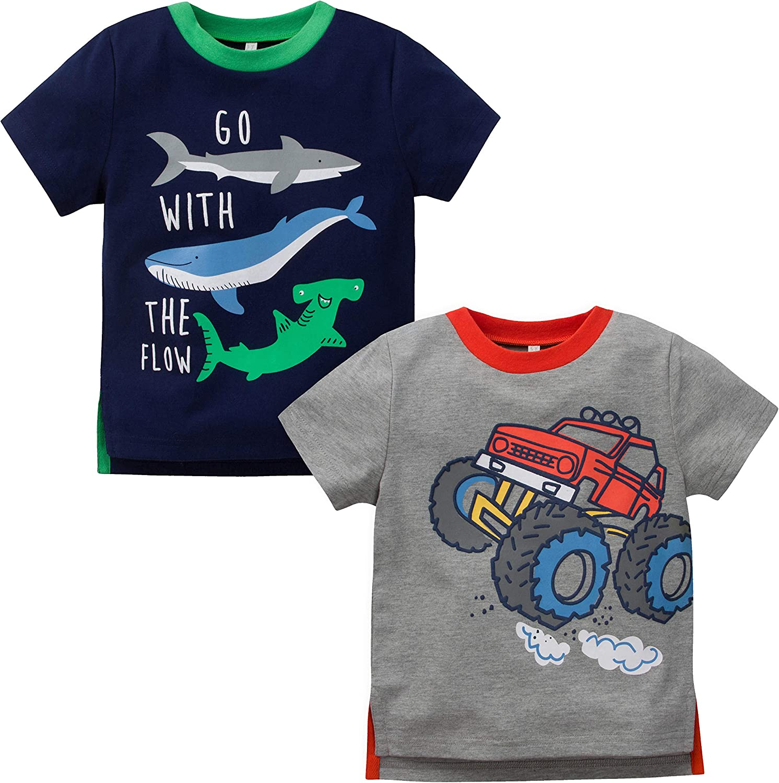 Gerber Baby Boys 2 Pack T-Shirt Tops