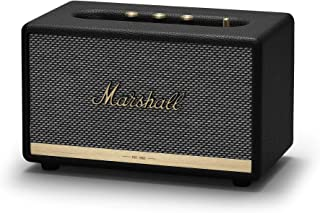 Marshall Acton II Bluetooth Speaker, The Small But Mighty Wireless Speaker, with Larger Than Life Customisable Sound, Black