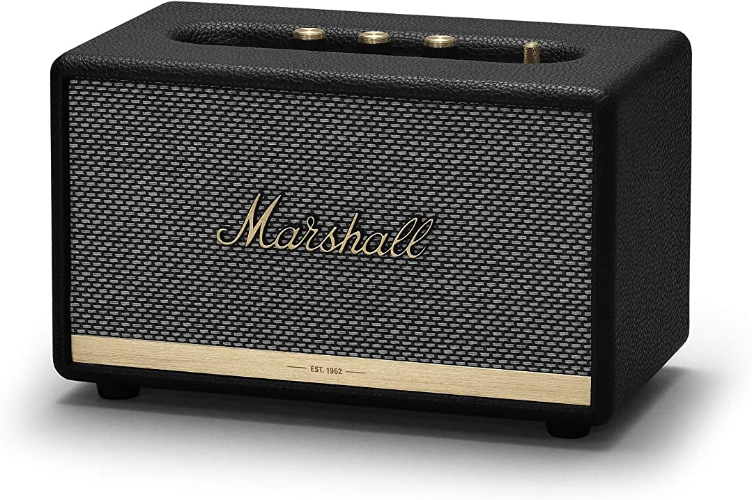 altoparlante bluetooth marshall acton ii , nero, one size mrl1001900