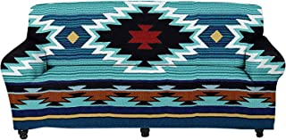 WELLFLYHOM Indian Tribal Pattern Couch Slipcover Sofa Cover Machine Washable Native American Furniture Cover/Protector Ela...
