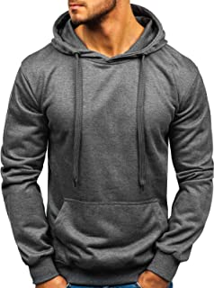 Bolf 1A1 Men's Basic Sport Style Mix Hoodie