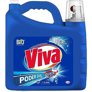 Viva Poder Dual con CLOROX Ropa Universal 6.64 L, 6.64 lts