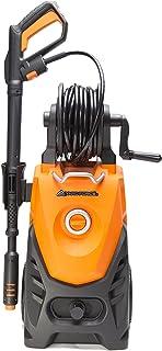 YardForce EW U15 Limpiador de alta presión, Sistema de parada total y rollo de manguera, 2000 W