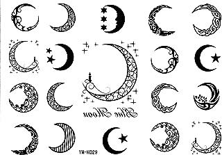 Moon Tattoo Stickers 19style Totem Temporary Tattoos Star Tattoo Stickers