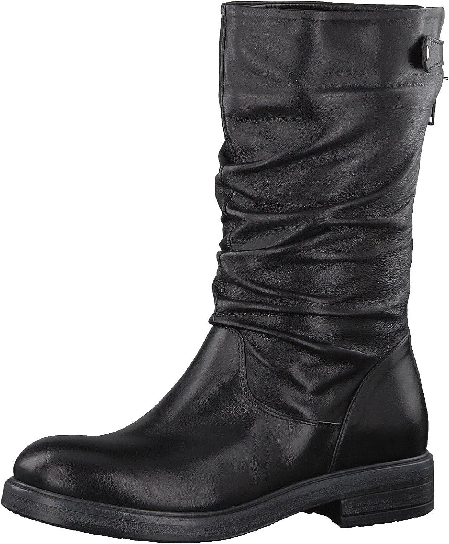Tamaris 1-1-25975-39 Damen Stiefel, Stiefelette, Stiefel, Winterstiefel, Herbstschuh für die modebewusste Frau, funktionaler Reiverschluss