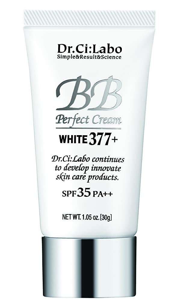 書き込み圧倒する文化ドクターシーラボ BBパーフェクトクリーム ホワイト377プラス 30g