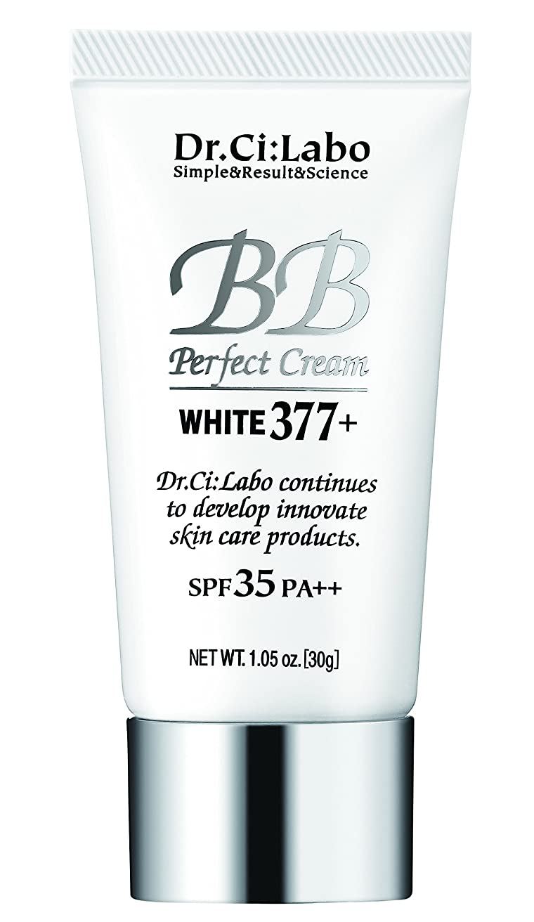 分類重々しいゆりドクターシーラボ BBパーフェクトクリーム ホワイト377プラス 30g