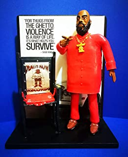 Figurilla - Action Figure Suge Knight - Death Row Records silla