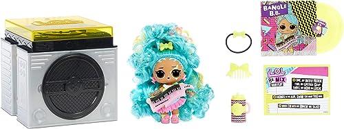 LOL Surprise Poupée Remix Hair Flip – A collectioner - 15 Surprises - Avec Cheveux Surprise, Accessoires & Musique