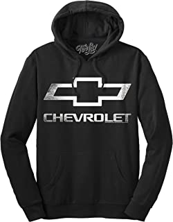 Chevrolet Logo Hoodie - Officially Licensed Chevy Hooded Sweatshirt