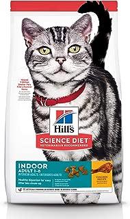Hill's Science Diet Adult Indoor Cat Food, Chicken Recipe Dry Cat Food, 4kg Bag