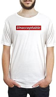 Unacceptable Unisex T Shirt