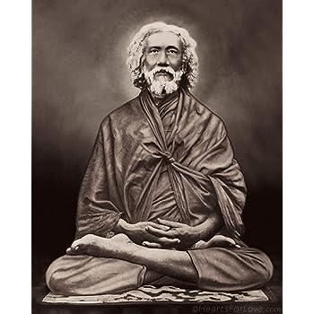 Amazon Com Swami Sri Yukteswar Giri The Guru Of Paramahansa Yogananda Sepia Print 5x7 Posters Prints