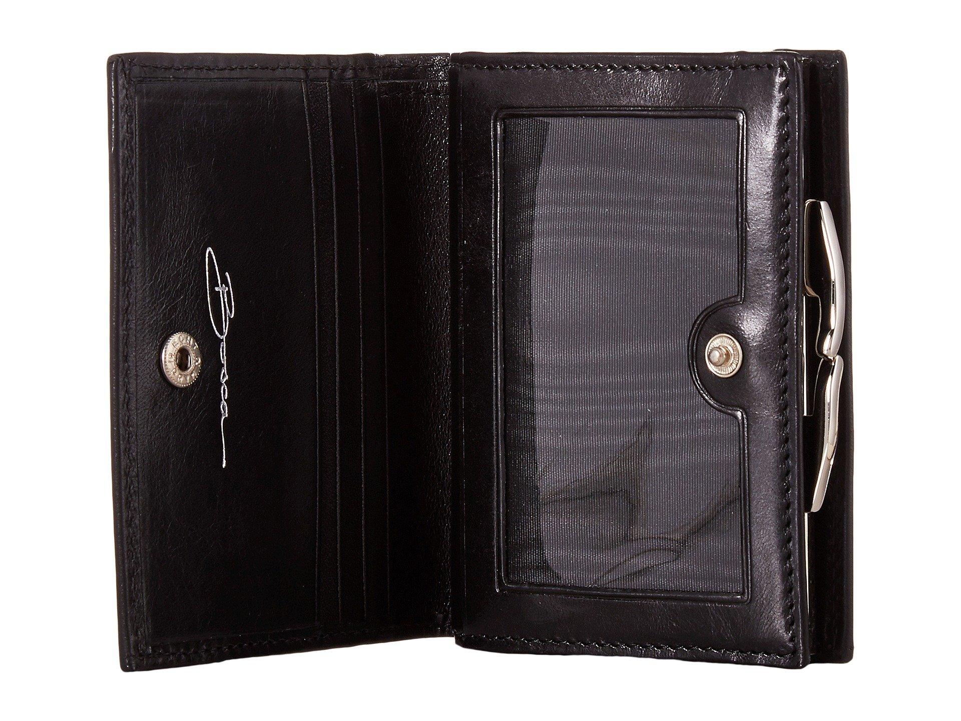 Frame Leather Petite Purse French Bosca Old Black EqHn44