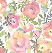 NuWallpaper NU3035 Peachy Keen Pink Peel & Stick Wallpaper