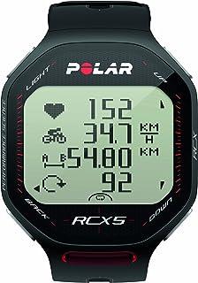 Polar RCX5 Bike (Incluye Candence Sensor) Pulsómetro, Unisex, Negro, 47 UK