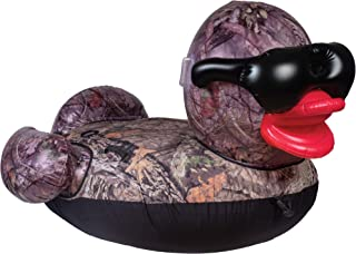 GAME 56794-BB Towable Tuff Duck, 6 Feet Wide, Holds Up to 400 Pounds Premium Inflatable, Giant, Mossy Oak Break-Up Country