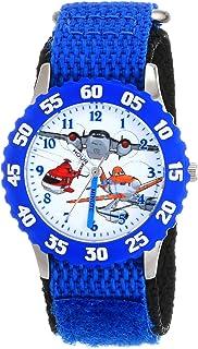 Disney Kids' Planes Fire and Rescue Group, W001634, Analog Display Analog Quartz Blue Watch