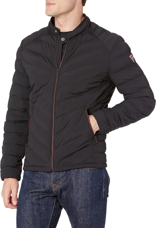 GUESS Men's Slim Fit Puffer Jacket