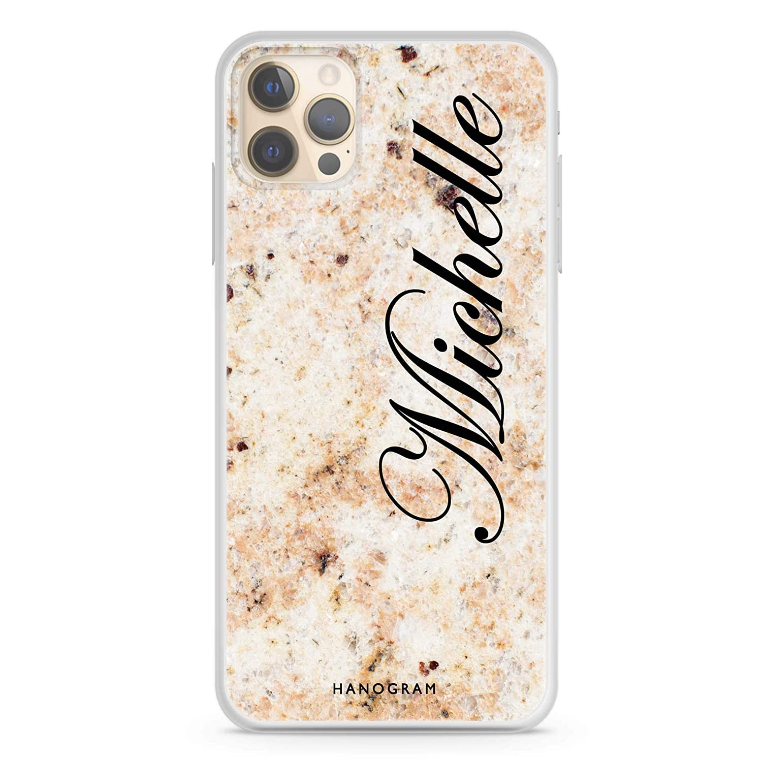 Real Marble iPhone Under blast sales 12 Pro Max Soft Louisville-Jefferson County Mall Clear Case