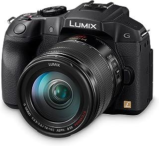 Panasonic Lumix DMC-G6HEB-K, fotocamera digitale con obiettivo intercambiabile con sistema compatto 14-140 mm, colore: Nero