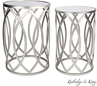 Best round silver table Reviews