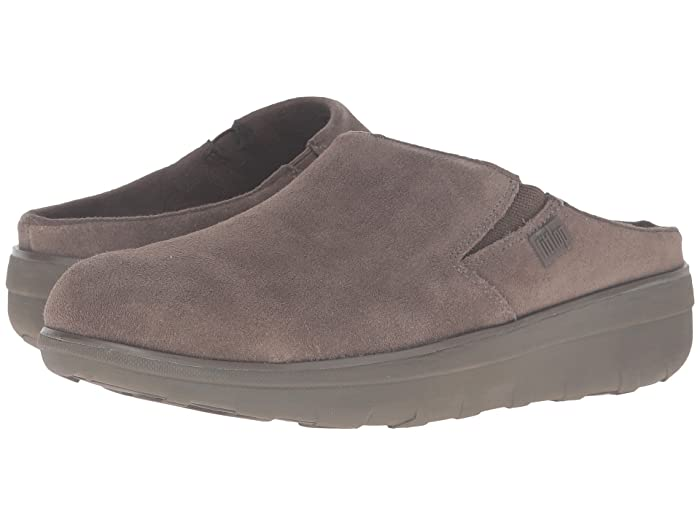 d3bf80cc6 FitFlop Loaff Suede Clogs at Zappos.com