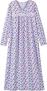 Printed Flannel Gown