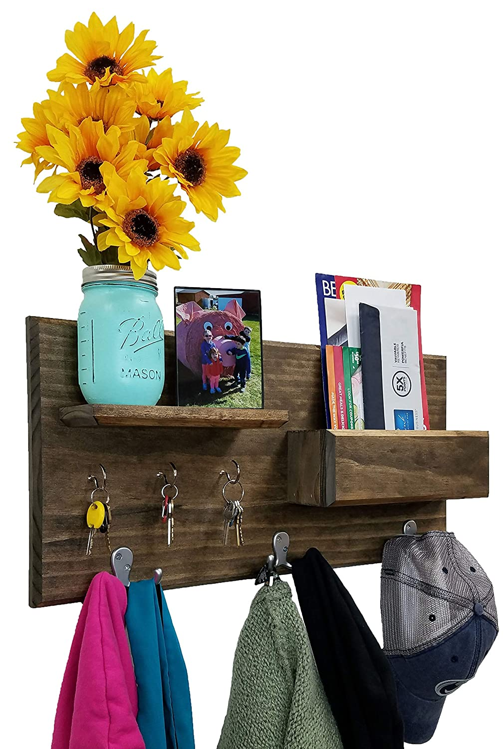 Hamilton 2021 model Elite Wall Mounted Organizer New Shipping Free Shipping 3 features hoo coat double
