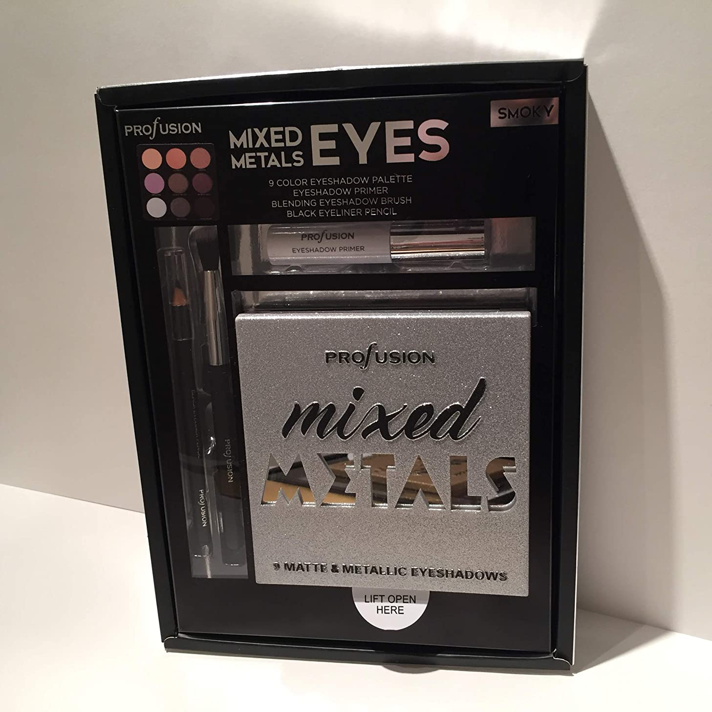 原告国民現実的PROFUSION Mixed Metals & Eyes Palette - Smoky (並行輸入品)