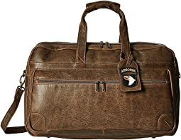 Scully Squadron Large Duffel w/ 81st Aero Squadron Luggage Tag