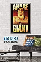 """Trends International WWE - Andre The Giant, 22.375"""" x 34"""", Barnwood Framed Version"""